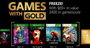 Games with Gold Mars 2018
