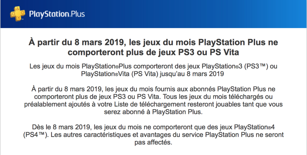 email playstation plus