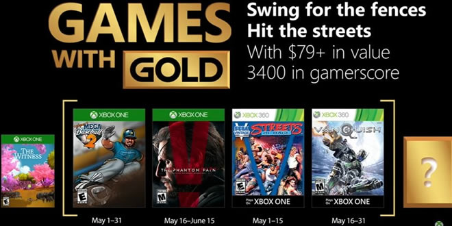Games with gold mai 2018