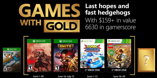 Games with gold juin 2018