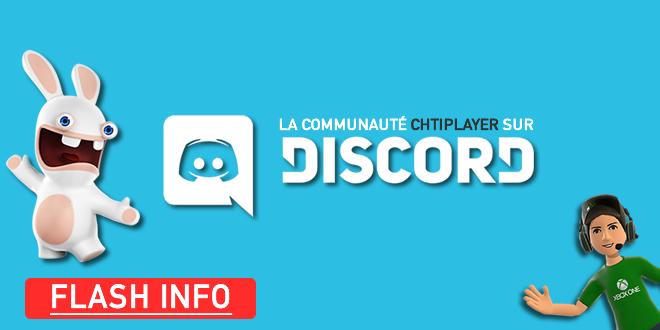Rejoins la communauté sur Discord  ! Annonce ChtiPlayer #4